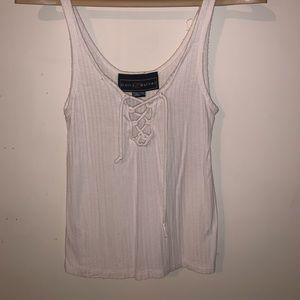 Tops - White/Cream Tank top. Adjustable to size.